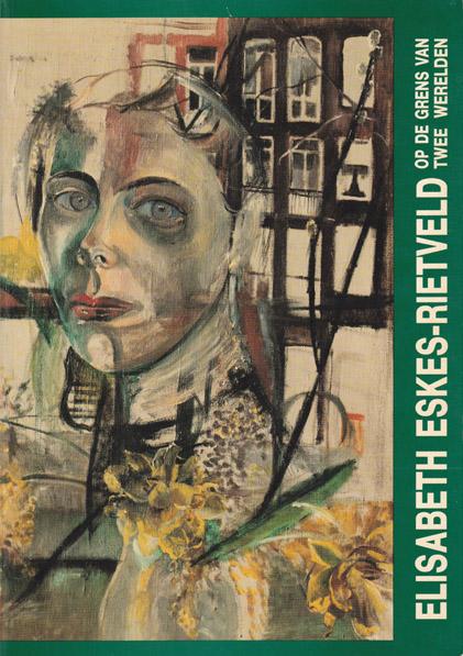 Omslag catalogus Elisabeth Eskes-Rietveld Op de grens van twee werelden. Februari 1988 Stichting Katwijks Museum