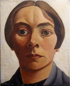 1928 zelfportret Charley Toorop