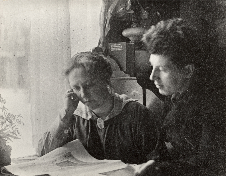 Vrouwgien Hadders en Gerrit Thomas Rietveld ±1911