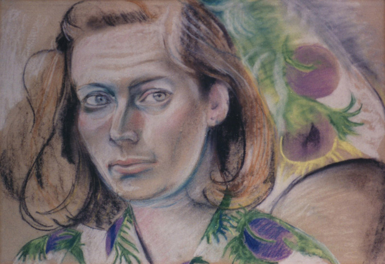 Margaretha Ferguson - pastel 34x49.5 cm - E.E.R. '50; rechtsonder