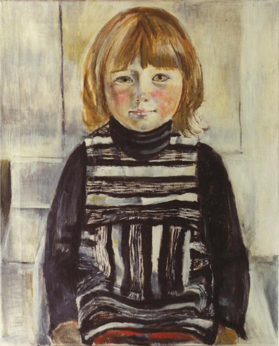 Ellen Bouhuijs - olie/doek 60x50 cm - ongesigneerd ongedateerd (± 1969)