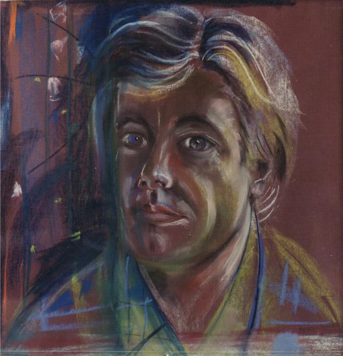 Fons Seyler - pastel 49x50 cm - zmer 1977 EER; rechtsonder