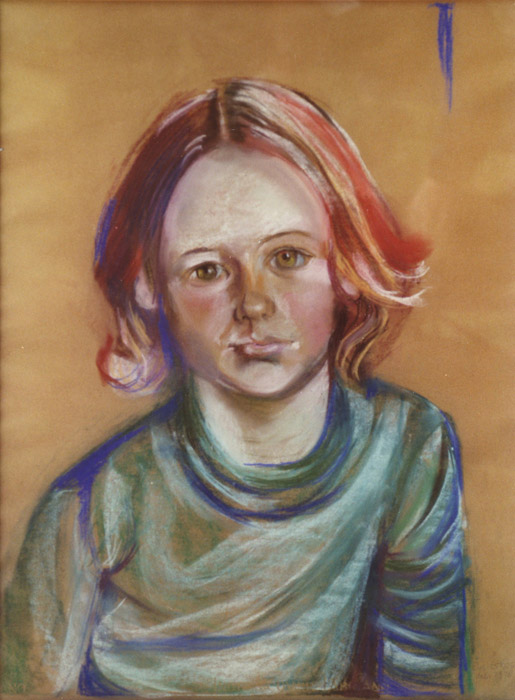 Ellen Bouhuijs - pastel 61x46 cm - Elis. Eskes dec. 1978; rechtsonder