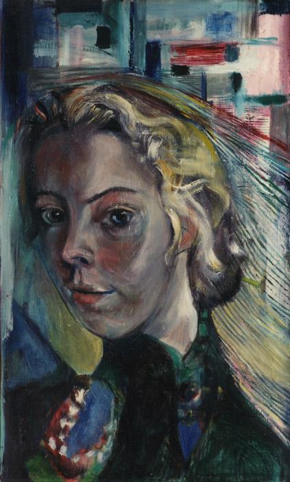 Gerda Seyler-Rijkeboer - olie/doek 55x33.5 cm - 1979 EER; linksboven