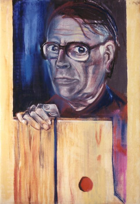 Derk Eskes - pastel op hout 70x47 cm - EER 80; linksboven