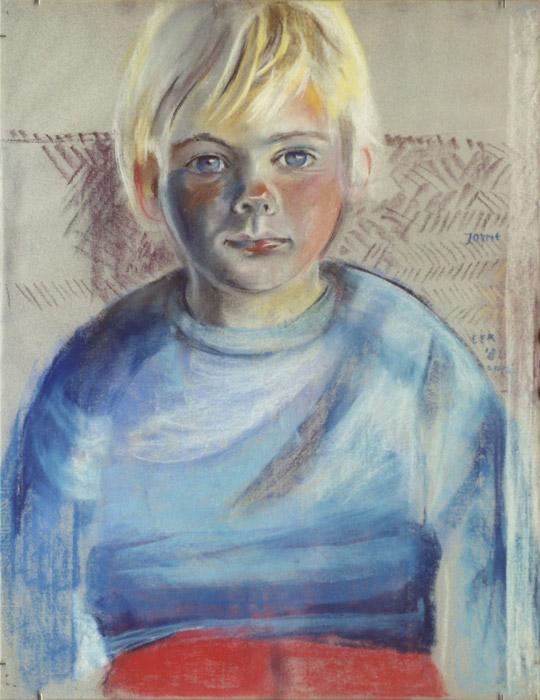 Jorrit Mulder- pastel 65x50 cm - EER april 1982; rechtsmidden