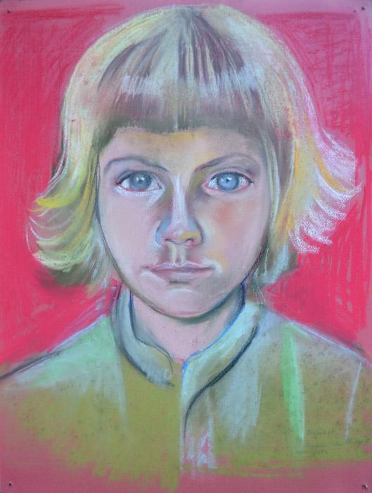 Elisabeth Liveriero Lavelli - krijt op papier - 49,5 x 37,5 cm - Elisabeth Eskes Rietveld sept 1982, rechtsonder
