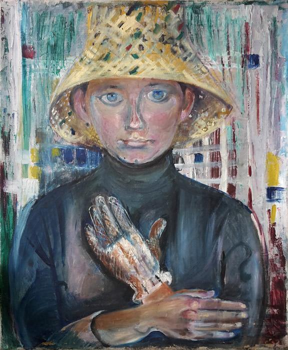 Marijke Ferguson - olie/doek, 50x60 cm - ongesigneerd, ongedateerd; ± 1950