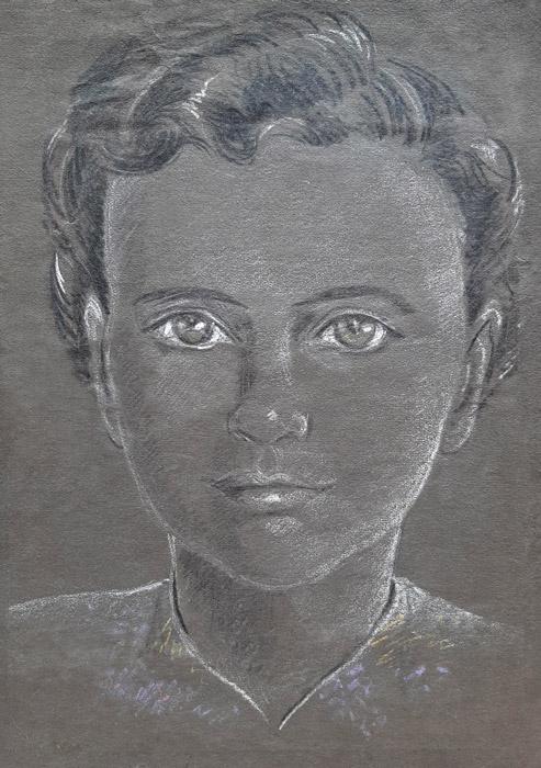 Alice May ong. 1943 - pastel/papier 16x23 cm – ongesigneerd